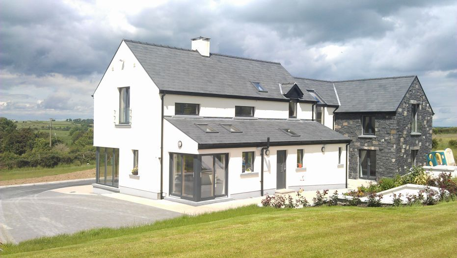 Funky In The Country Quality Architecture Murphy Mcgerr Architecture Ireland Country House Design House Designs Ireland Country Style House Plans