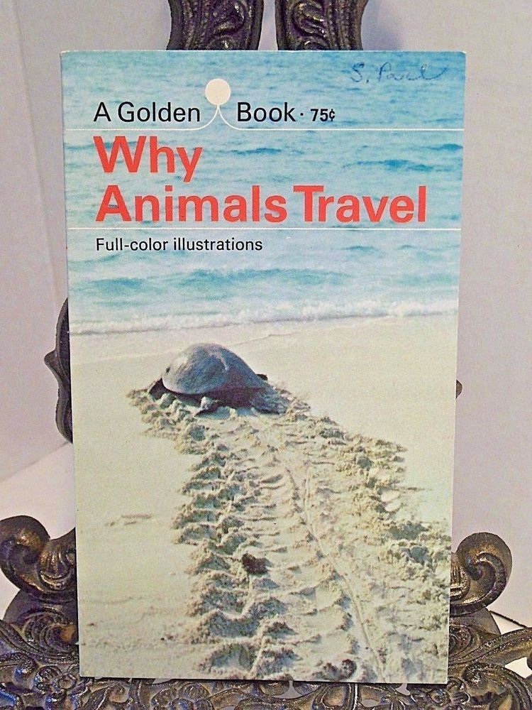 Why Animals Travel A Golden Book How Mammals Insects Birds