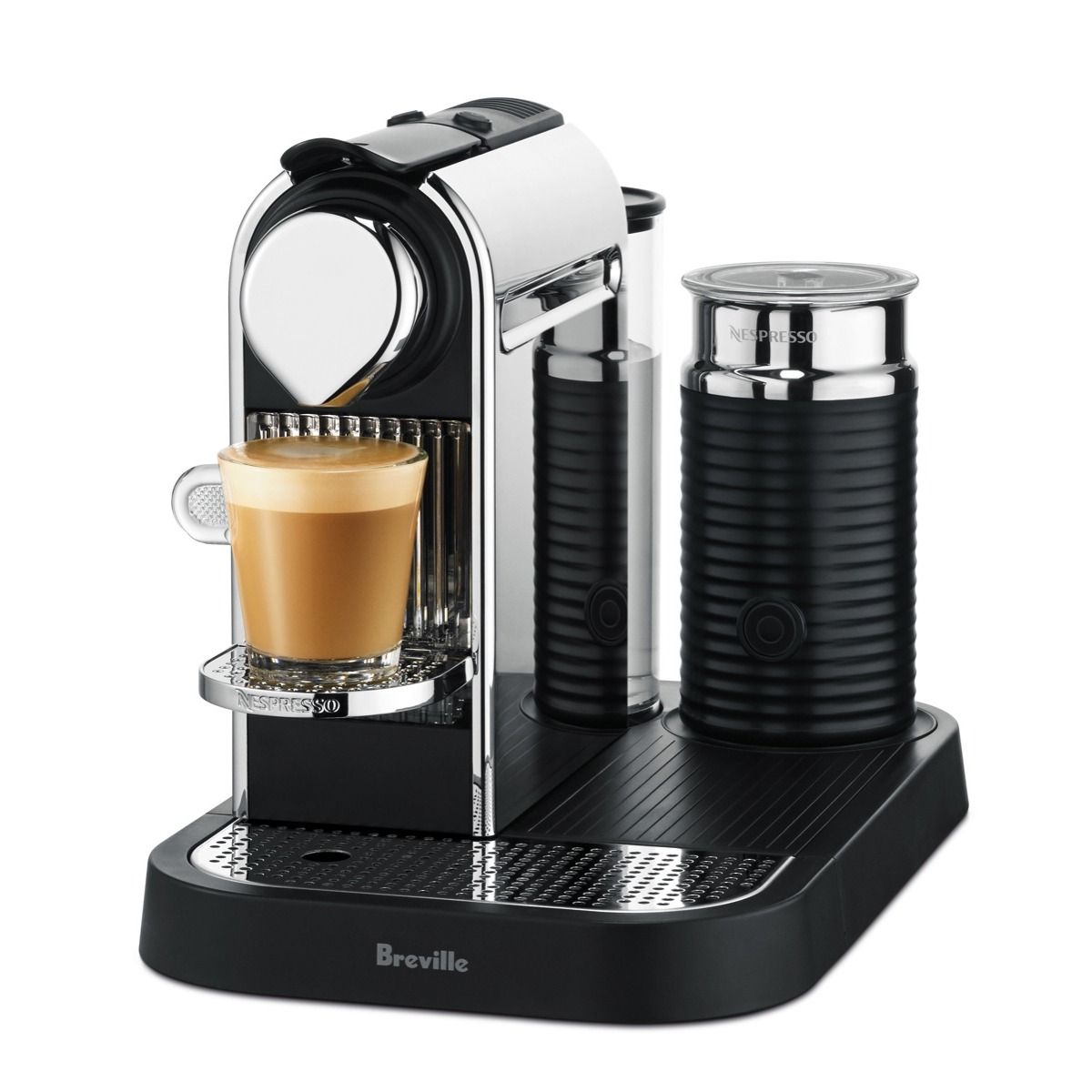 Check out the Nespresso Breville Citiz and Milk Chrome at
