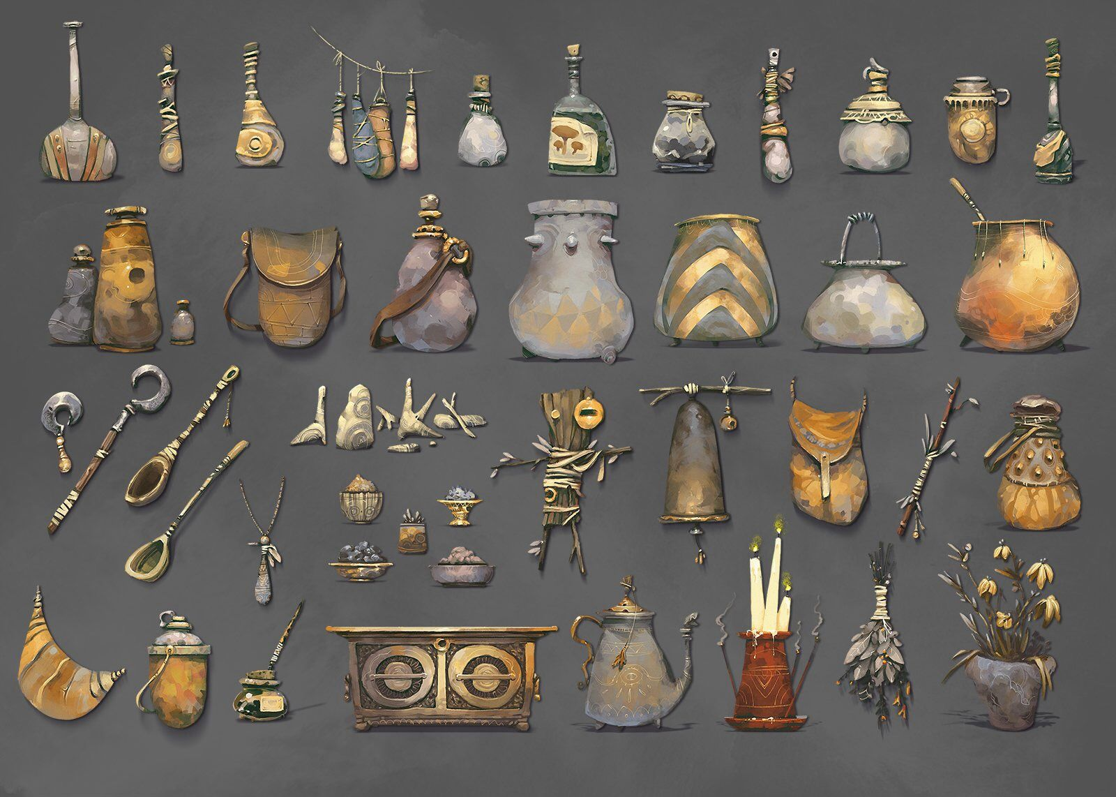 Pin by Alexey Rudikov on REF_ITEMS Props art, Props