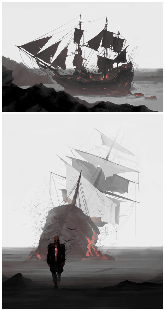 DH Pirate AU: Bloodflies by coupleofkooks | Dishonored in