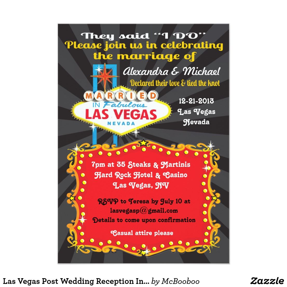 Modern Cheap Post Wedding Reception Invitations Picture Collection ...