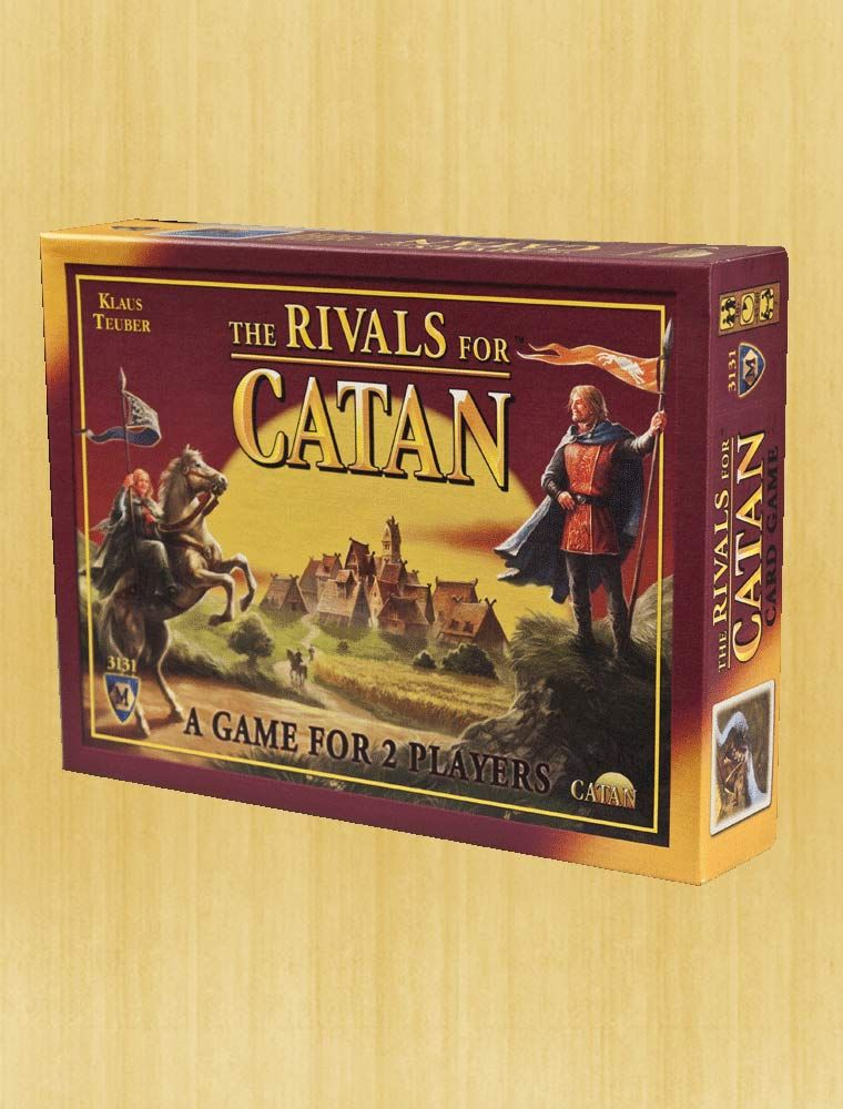 The Rivals for Catan™ A Game for 2 Players The rival