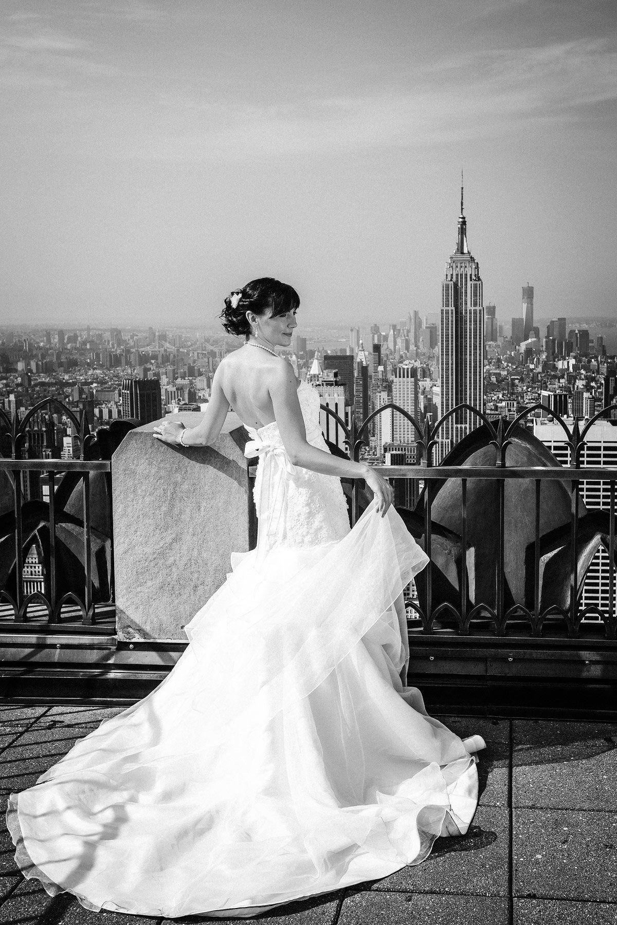 Hochzeit in New York Foto by christinaeduard