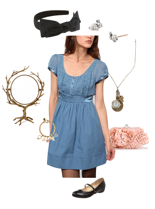 Modern Alice Costume Alice In Wonderland Dress Spring Outfits