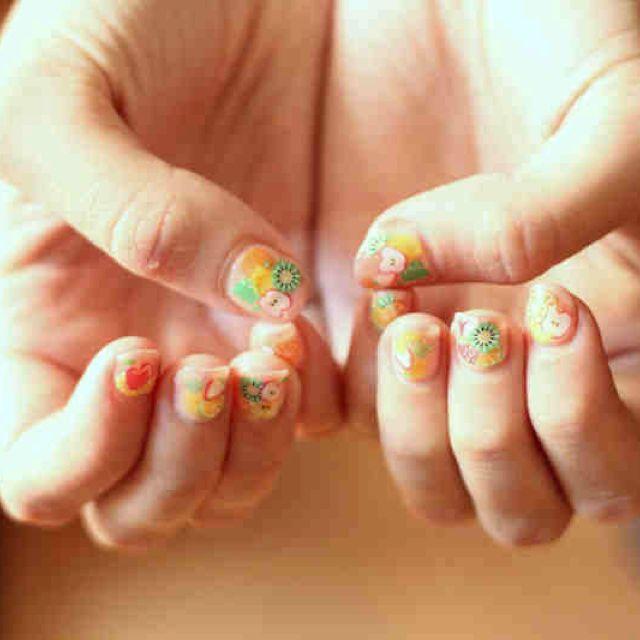 Fruit nails!