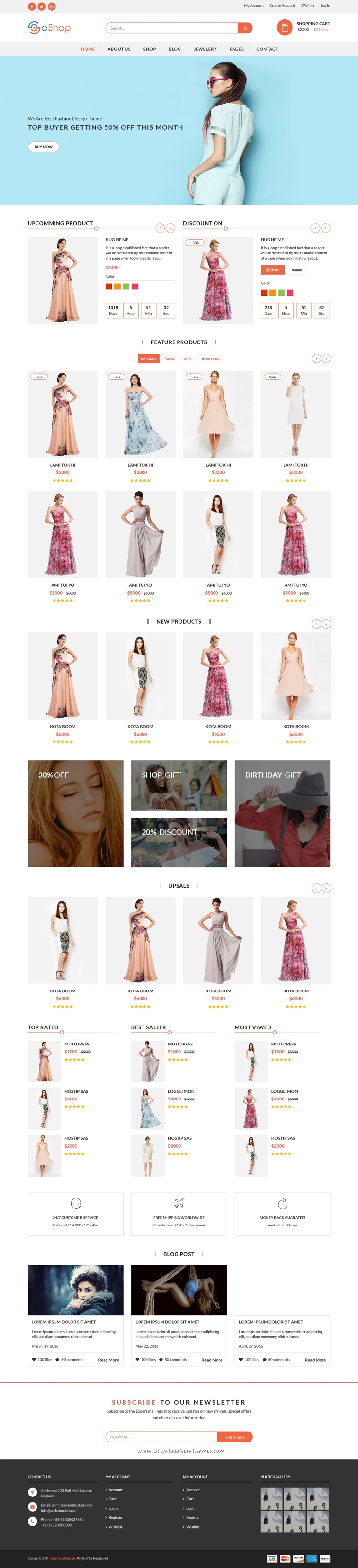 is a light and clean design Bootstrap template for