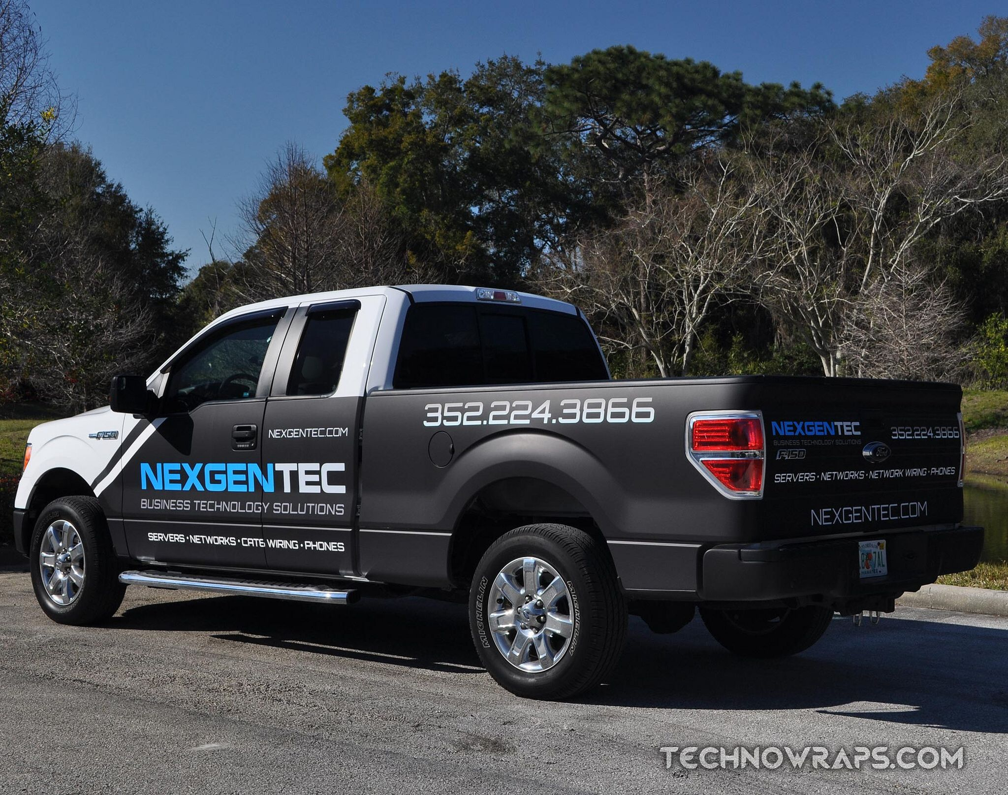 Pole position race way vinyl truck wrap on a ford f 150 in frisco texas truck wraps pinterest car wrap ford and cars