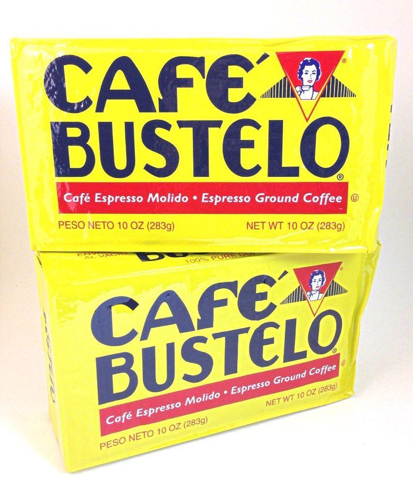 Cafe bustelo espresso ground coffee 10 oz bricks miami