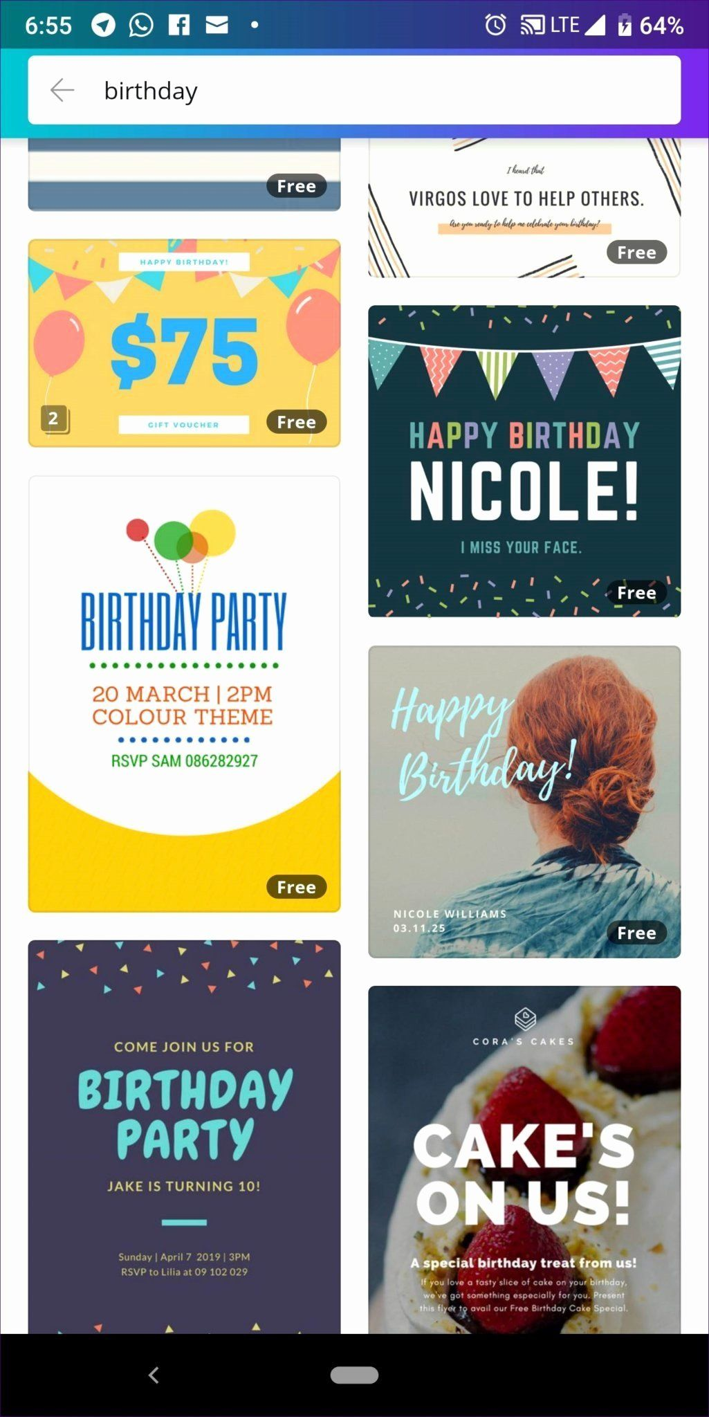 birthday cards for whatsapp beautiful how to create