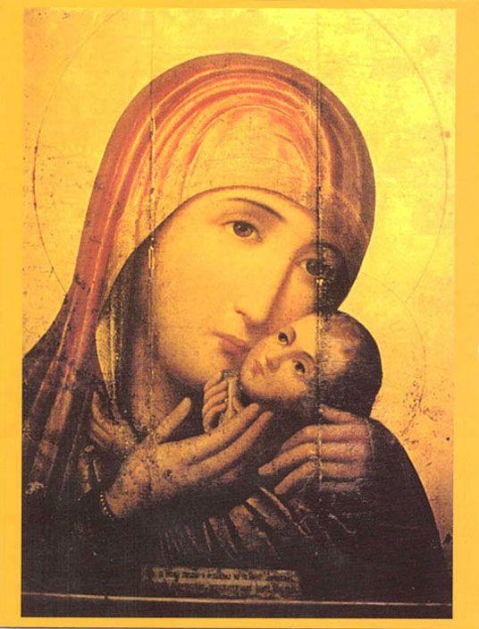 икона Богоматери  «КАСПЕРОВСКАЯ»