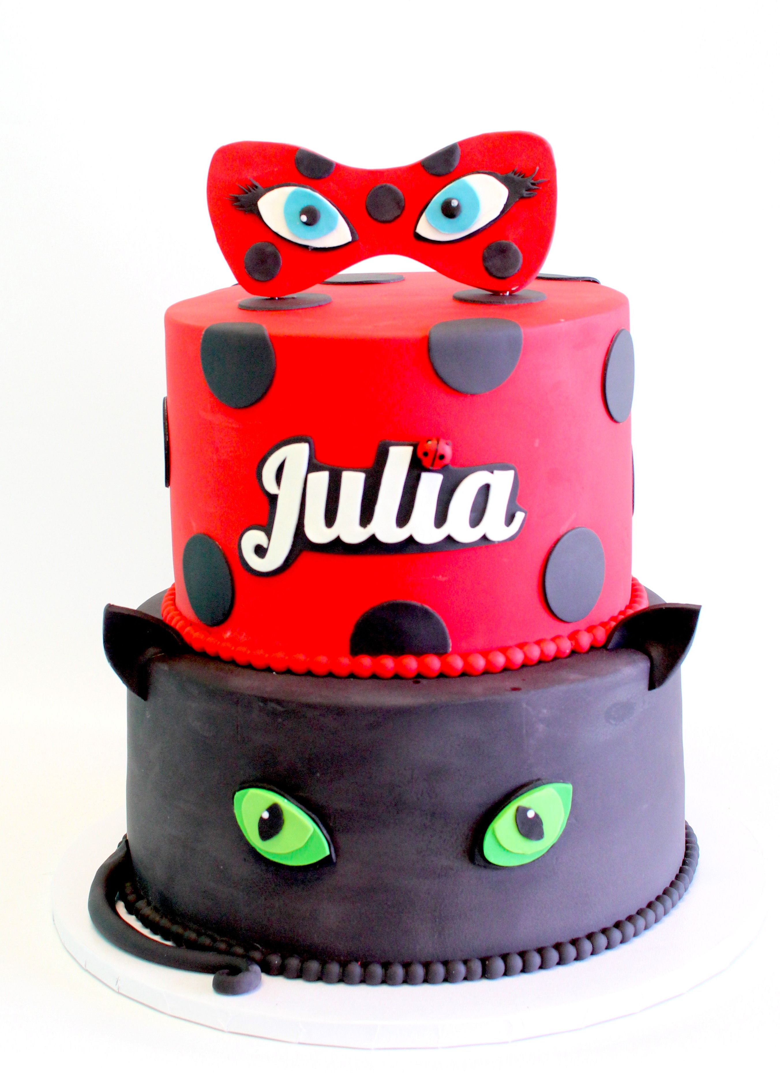 the miraculous ladybug cake by cake bash studio bakery lake