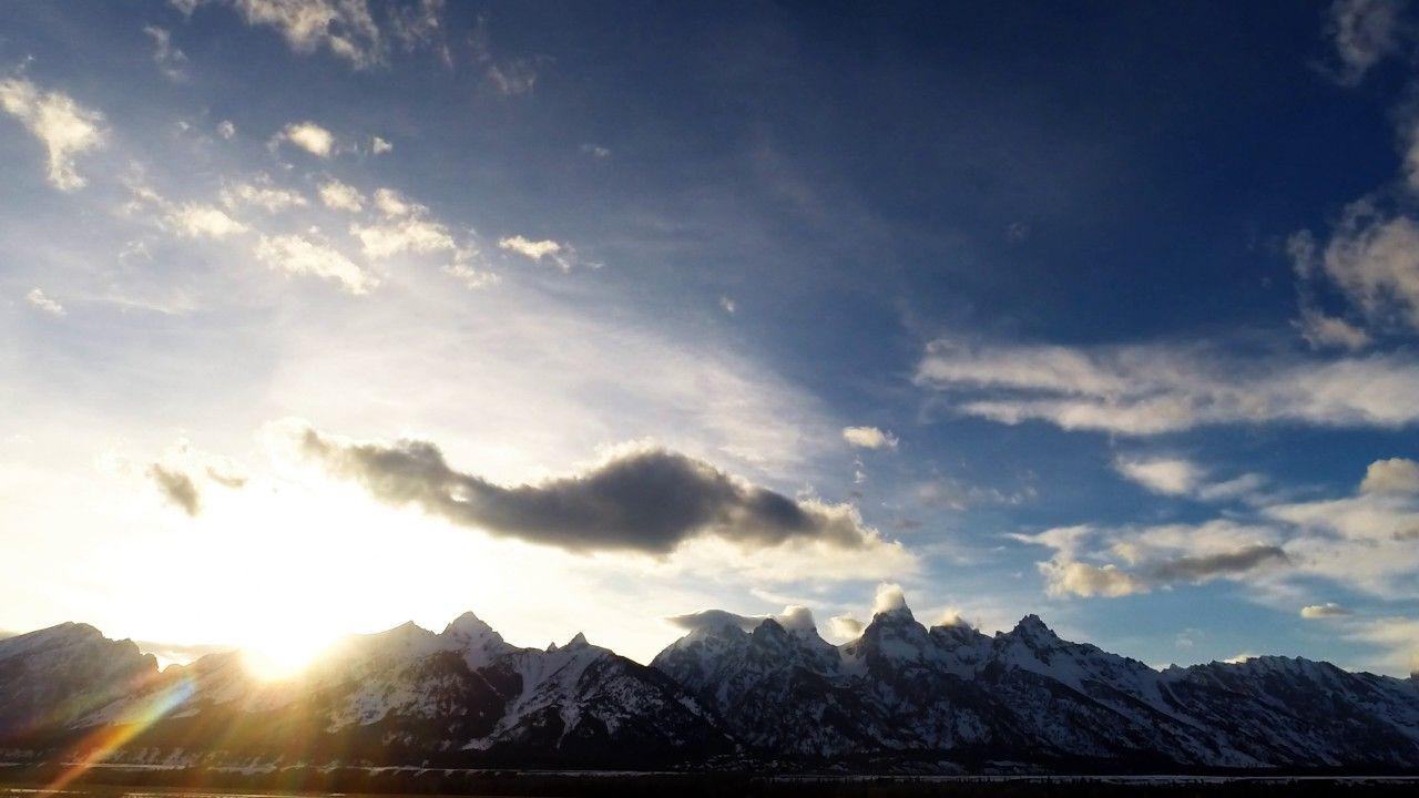 Grand Teton Sunset [ APRIL 6] Teton Tube, Time-lapse