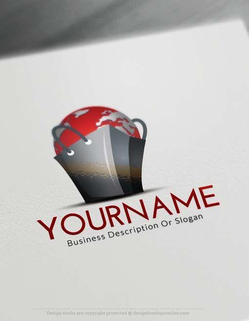 Free Logo Maker Worldwide E Commerce Design
