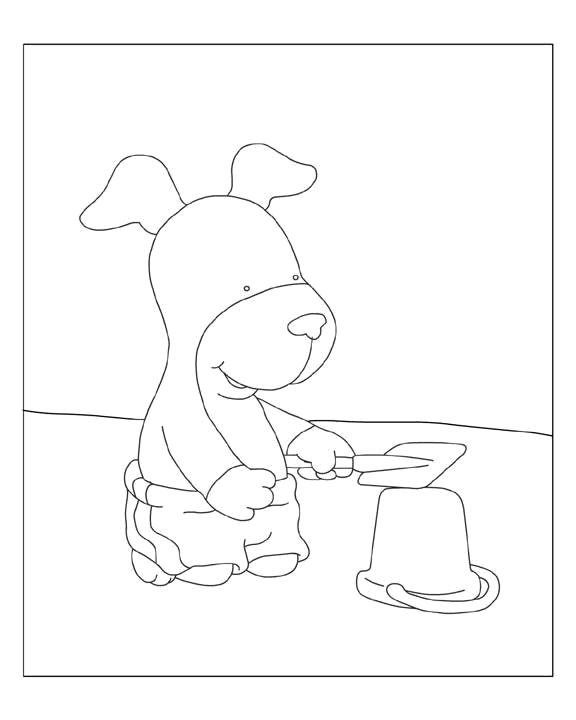 Kipper the dog coloring pages murderthestout for Kipper the dog coloring pages