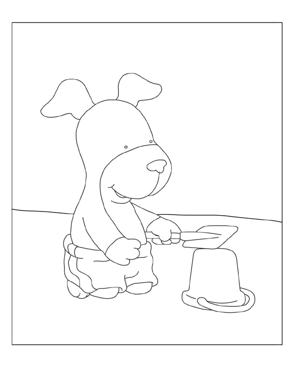 Kipper the dog coloring pages Printable Coloring Pages For Kids
