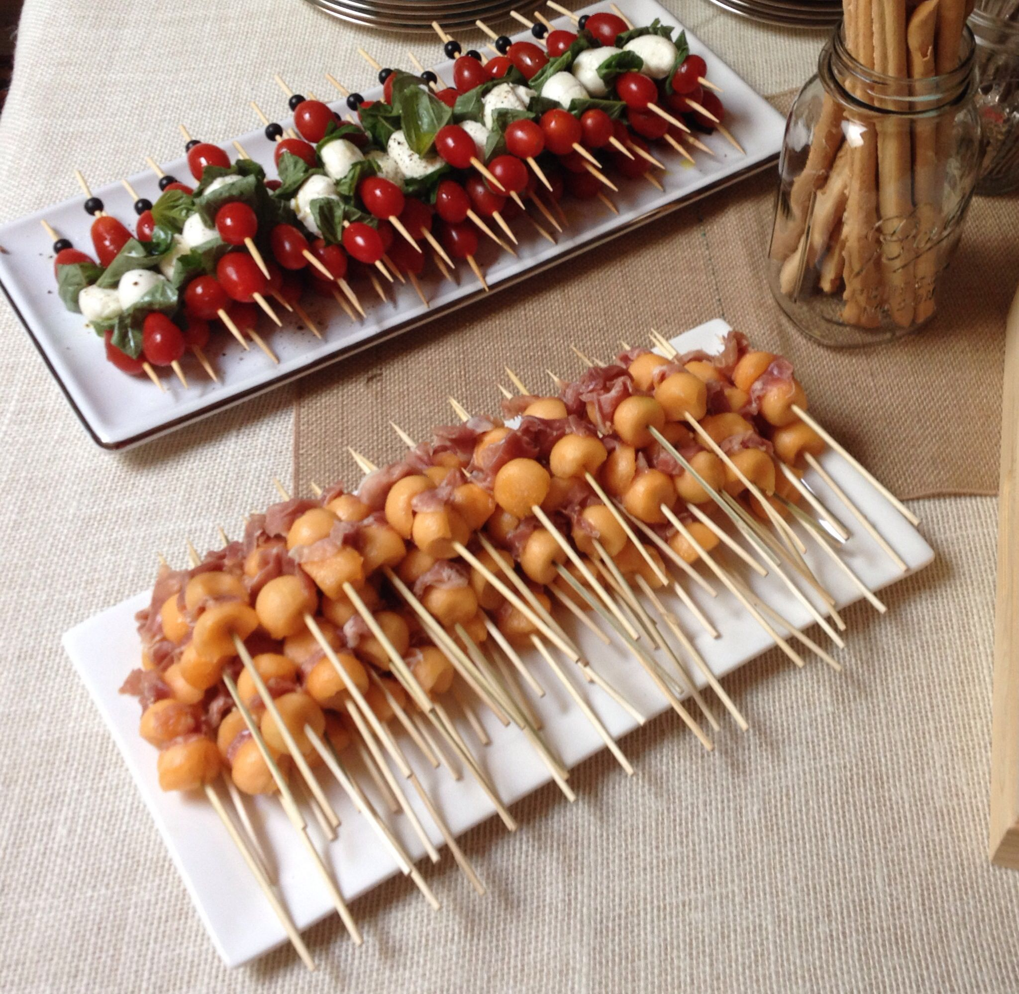 Adult themed party appetizers