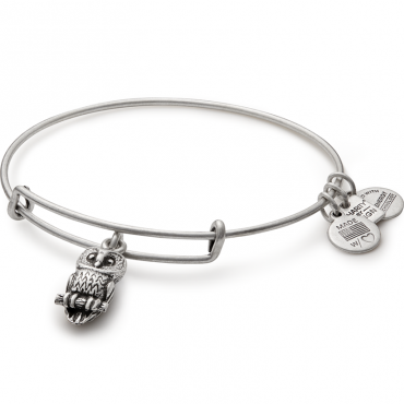 Alex And Ani Will Donate 20 Of The Purchase Price From Each Ode To The Owl Charm Sold With A Minimum Donation Of 25 0 Charm Bangle Charity Bracelet Bangles