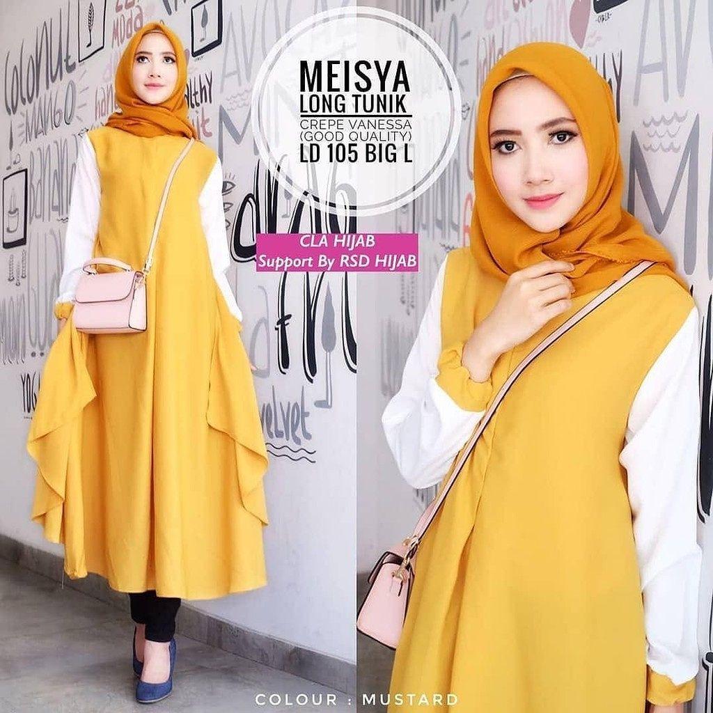 Baju Mustard Cocok Dengan Jilbab Warna Apa