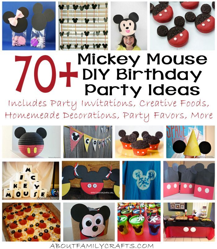 Decorating Ideas > 70+ Mickey Mouse DIY Birthday Party Ideas  If You Ar ~ 150902_Birthday Party Ideas Diy