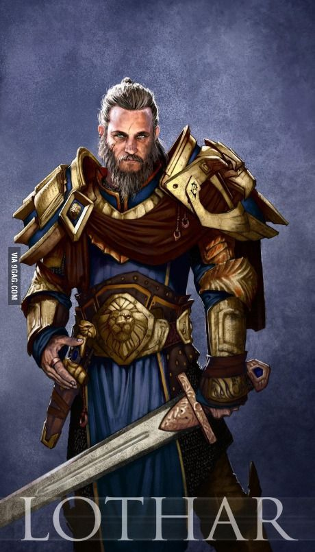 Travis Fimmel Ragnar To Play Anduin Lothar This Looks Like A Perfect Match Warcraft Movie Warcraft Art Warcraft