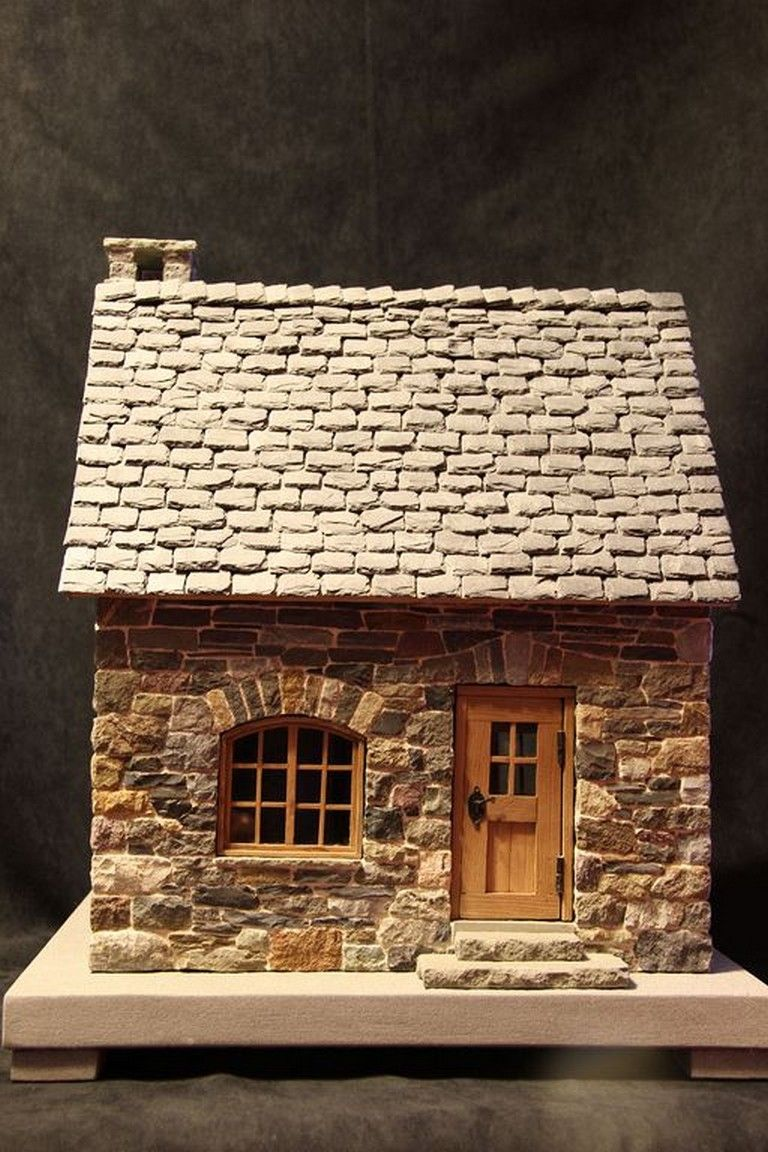 41 Awesome Tiny Stone Cottage Interior And Exterior Design Ideas Page 39 Of 43 Glitter Houses Miniature Houses Stone Houses