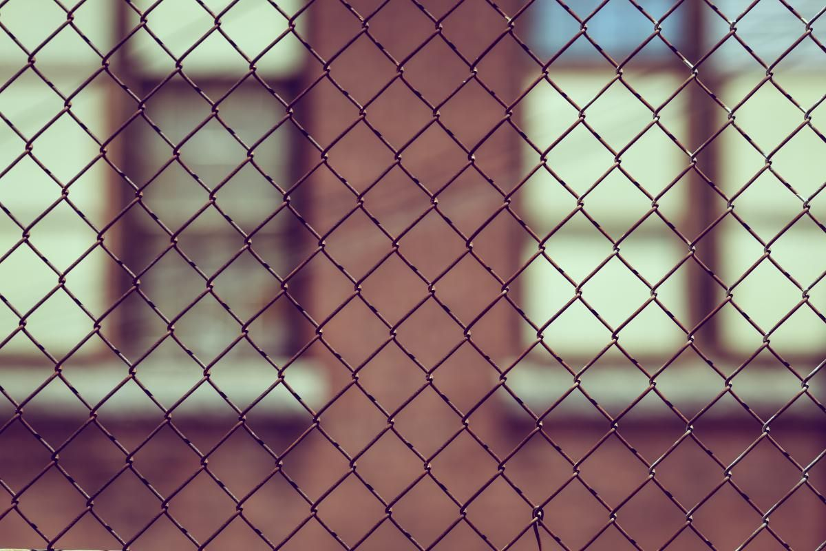 🔝 Check out this free photoBlack Metal Wire Mesh Fence 📷 https ...