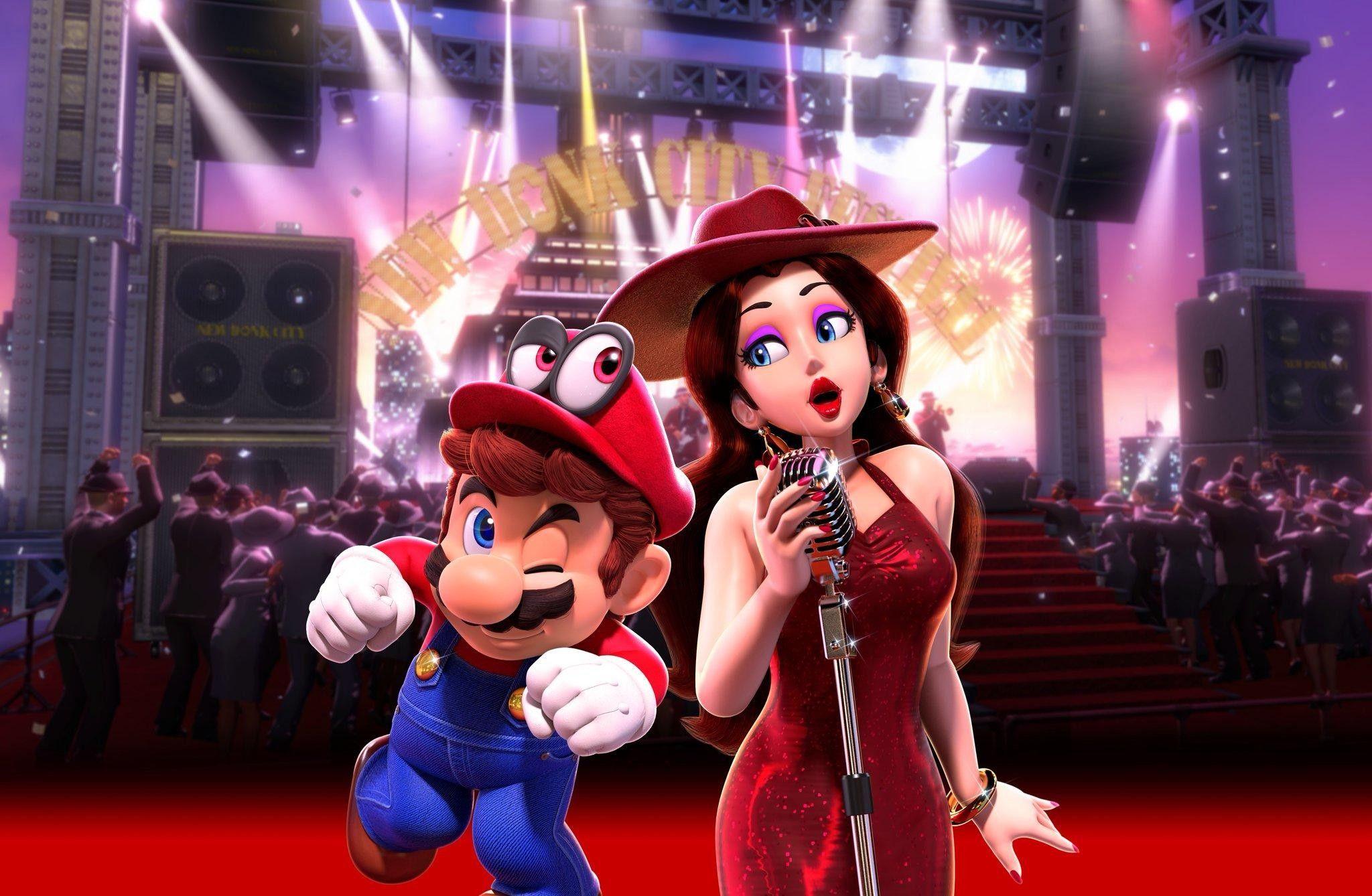 Pauline X Mario Super Mario Mario Super Mario 3d