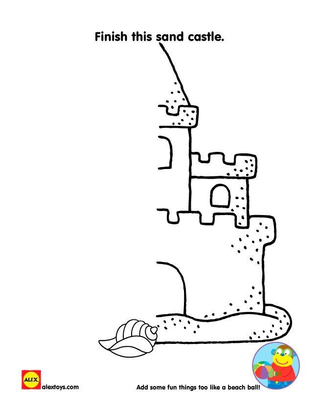 Printable Beach Themed Activity Sheets Printable Activities For