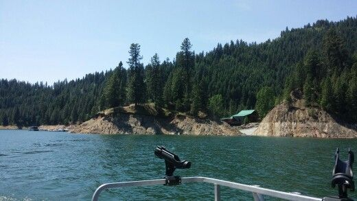 Big eddy marina dworshak reservoir orofino id kokanee for Dworshak reservoir fishing