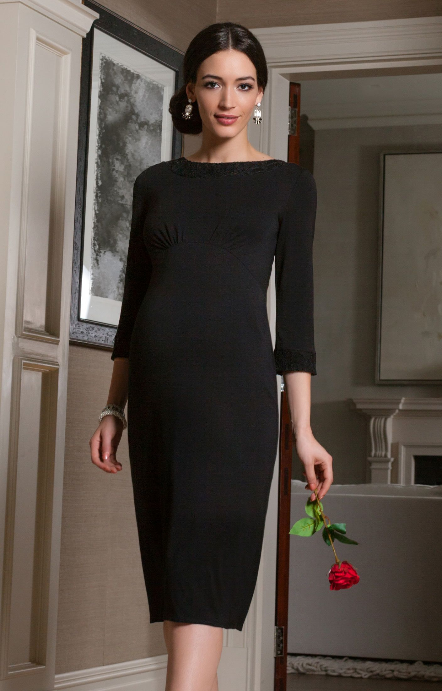 Adele shift dress tiffany rose adele and maternity clothing a sleek little black dress thats classically cut in shift style to sit just below the ombrellifo Images