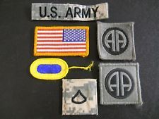 Lot of Six U.S. Army Patches