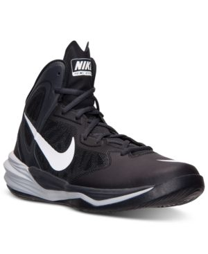 sale retailer 84c2d bdd45 Nike Men's Prime Hype Df Basketball Sneakers from Finish ...