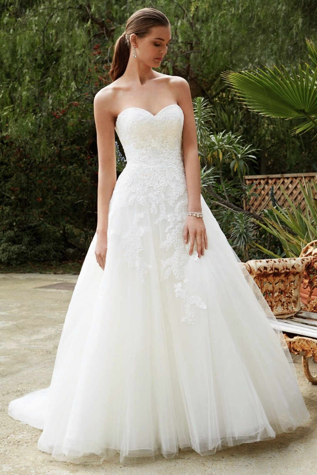BT16-24 - Sposabella Bridal Gowns Durban A Corded lace and Chantilly ...