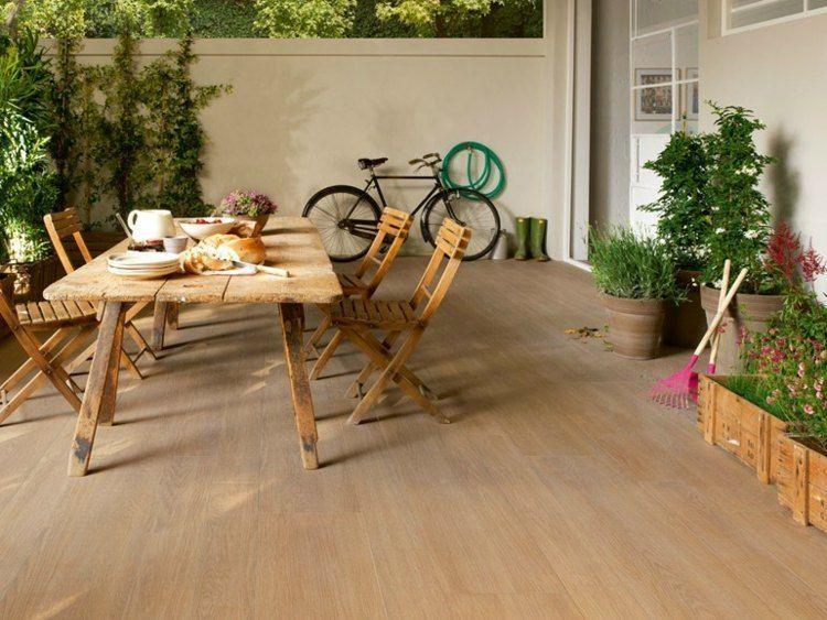 Carrelage extérieur imitation bois astuces et idées originales Patios