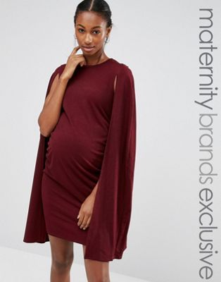 c5bdf64c28310 Bluebelle Maternity Cape Dress | Things to Wear | Maternity dresses ...