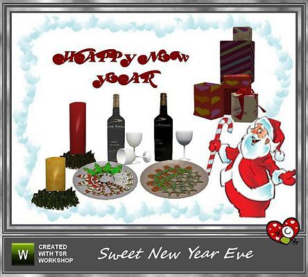 Sims 3 Updates - The Sims Resource: Sweet New Year Eve Set ...