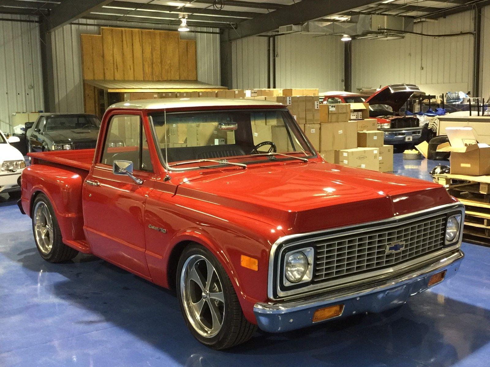 1971 chevy pickup stepside