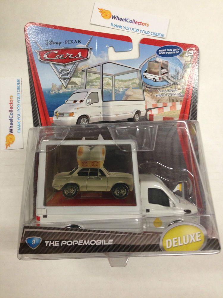 The Popemobile 9 * Disney Pixar CARS 2 * Disney DELUXE