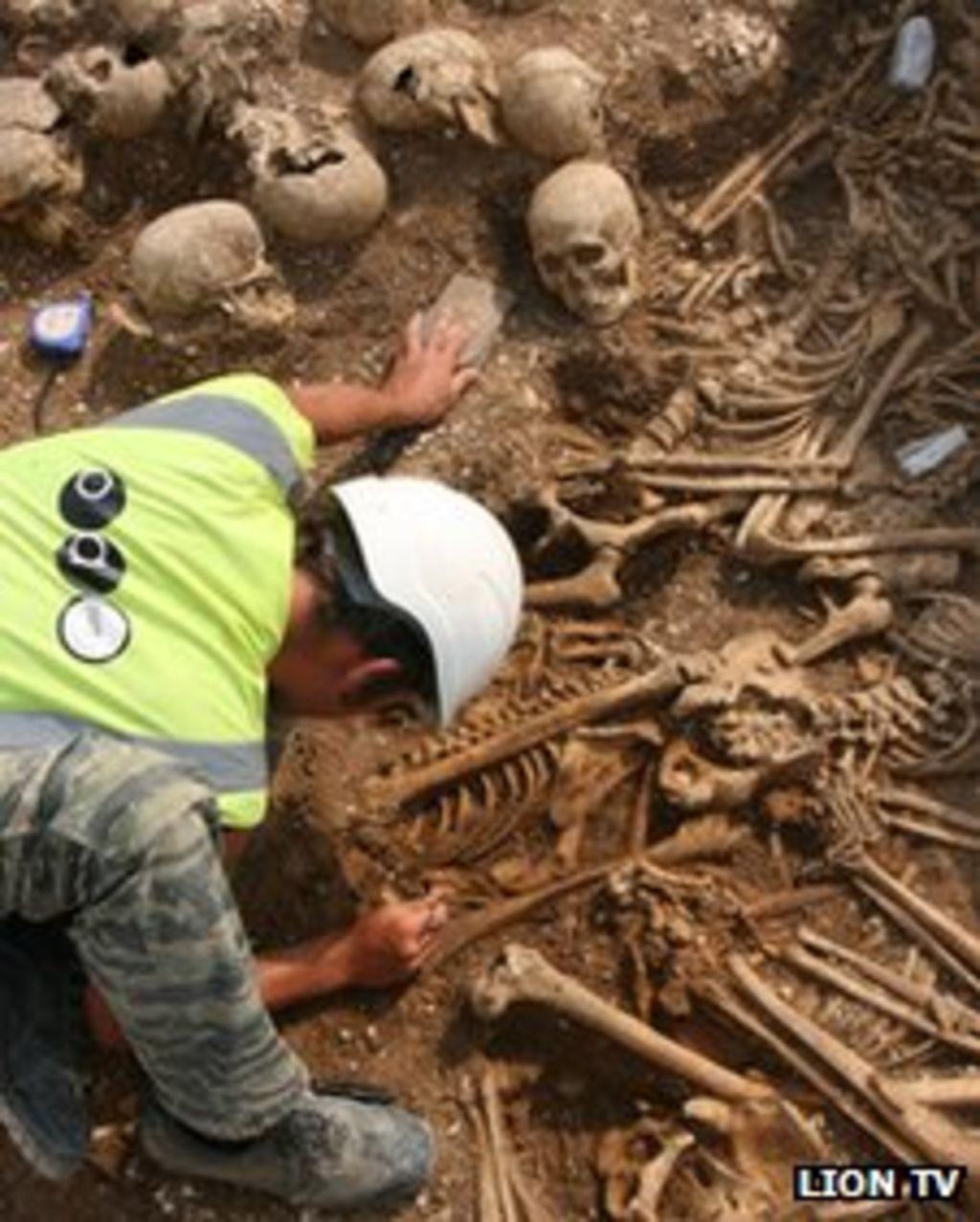 Viking Mercenaries In Mass Grave