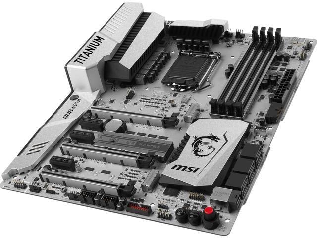 MSI Z270 GAMING PLUS LGA 1151 Intel Z270 SATA 6Gb/s USB 3
