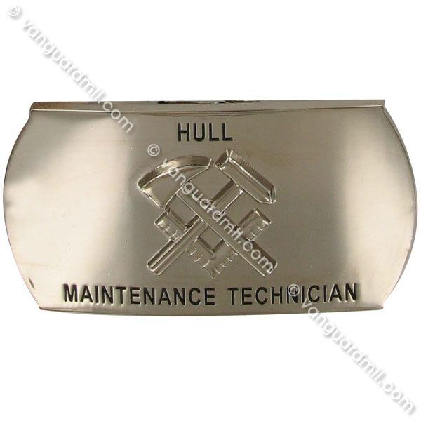 Navy Enlisted Specialty Belt Buckle Hull Maintenance Technician