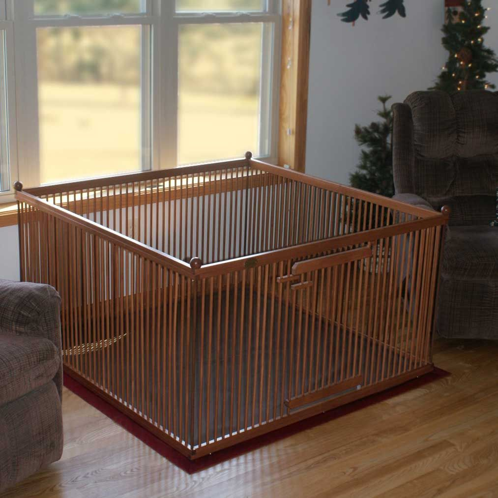 Our Indoor Dog Play Pen Is Portable And Perfect For Indoor
