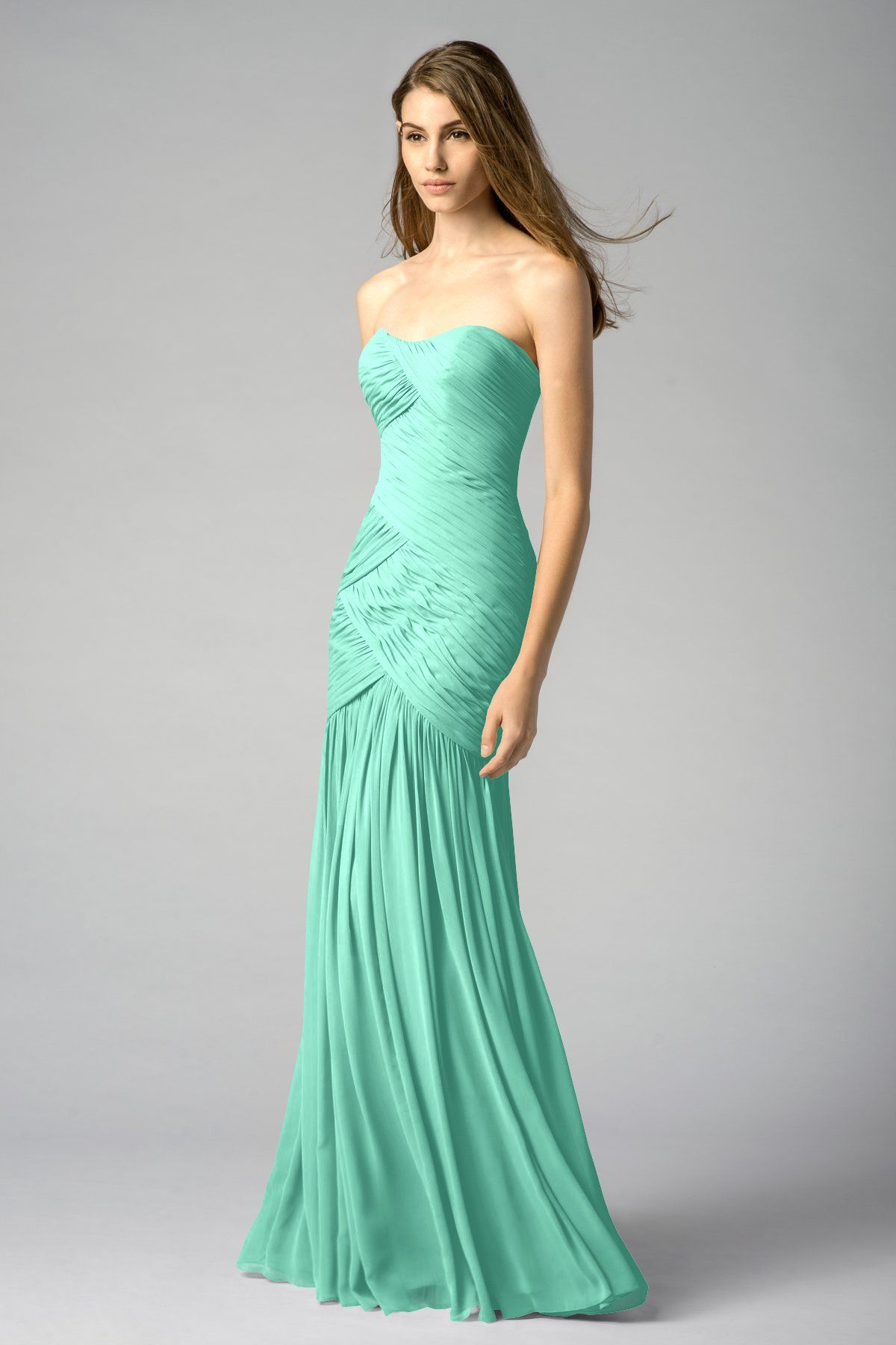 Watters maids dress adoria in the color mint i will add a