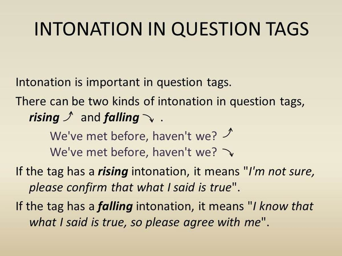 How To Form Question Tag In English With Images
