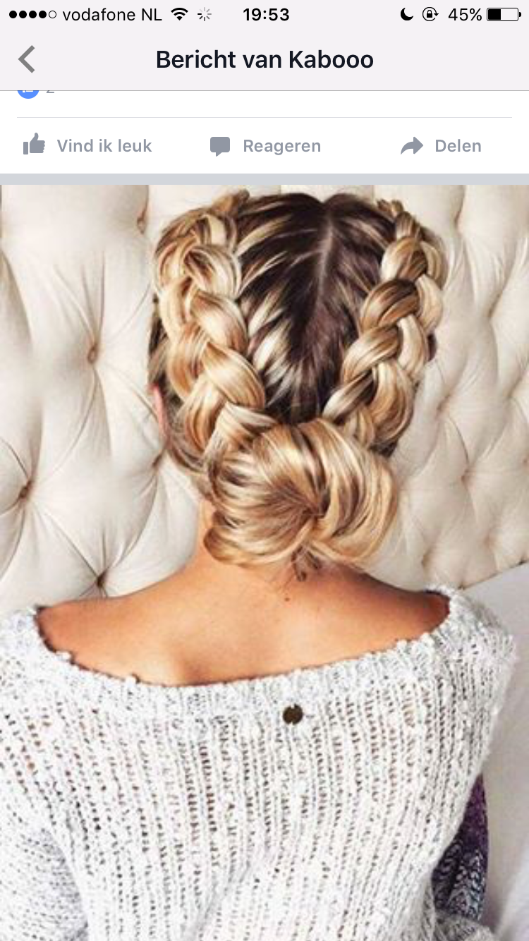 Braid in knot hair pinterest hair style makeup and hair makeup