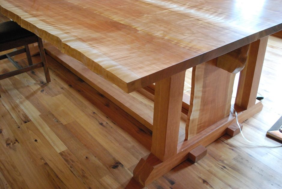Delicieux Cherry Was Crafted Into A Large Drafting Table For The Private Home Of An  Architect.