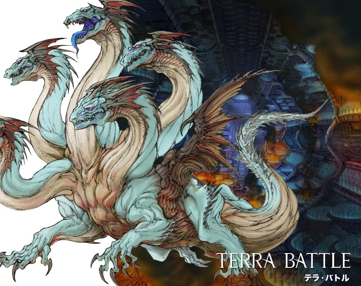 "Tiamat - Characters & Art - Terra Battle | Art of ""Terra ... - photo#17"