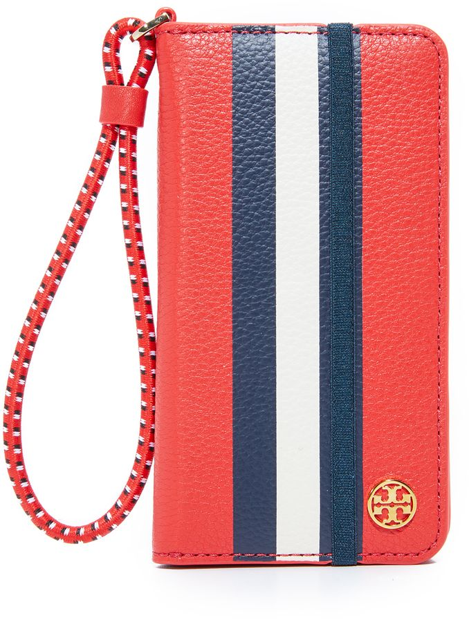 outlet store 18289 43e22 Tory Burch Scallop T Folio Case for iPhone 7 | iPhone cases | Iphone ...