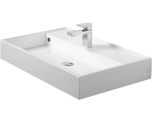 Lavabo Items Blanc 70 Cm Meuble Lavabo Salle De Bain Lavabo